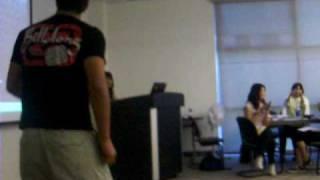 Dancing in class