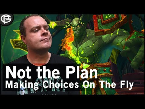 Not The Plan! - Adapting on the Fly