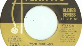 Chic - I Want Your Love (french house remix)