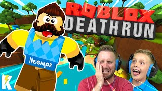 Hello Neighbor in ROBLOX Death Run! | KIDCITY GAMING