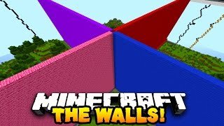 "Minecraft 1v1v1v1 WALLS ""LAVA BATTLES!"" #1 with The Pack"