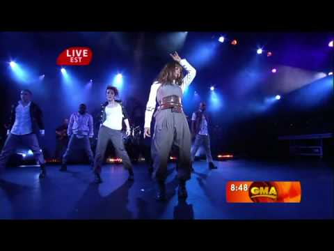 Janet Jackson - That's The Way Love Goes  -  Good Morning America