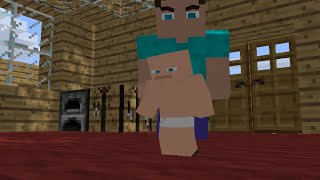 Minecraft: If Steve had a baby