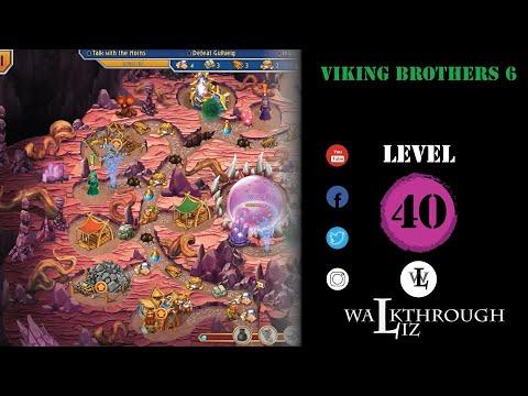 Viking Brothers 6 - Level 40 Walkthrough |