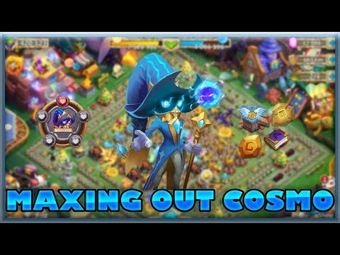 Castle Clash: Maxing Out Cosmo + Gameplay