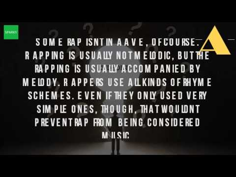 Is Rap Considered A Song?
