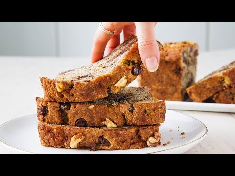 How To Make Perfect Chocolate Chip Banana Bread Every Time | Delish Insanely Easy
