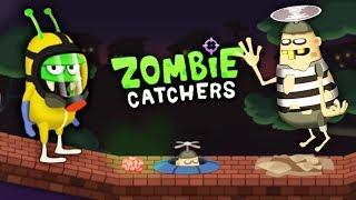ВОРИШКА БОБ ЗОМБИ? Мультяшная игра про ОХОТНИКОВ на ЗОМБИ Zombie Catchers
