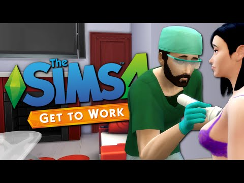 HOUSE CALLS - Sims 4 Doctor Career - The Sims 4 Funny Highlights #55