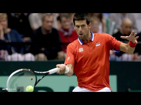 Novak Djokovic vs Vasek Pospisil 2014 Highlights - ATP China Open