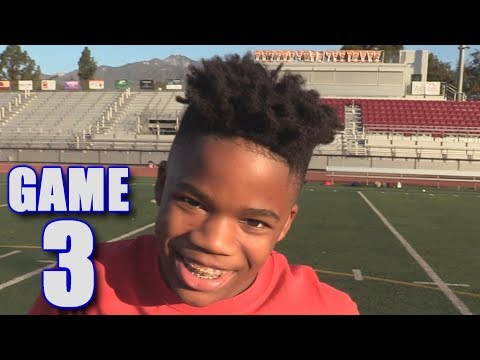 GABE'S FIRST TOUCHDOWN! | On-Season Football Series | Game 3