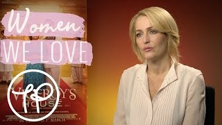Six minutes with Gillian Anderson