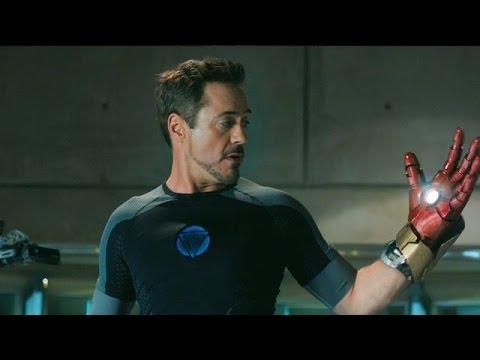 Iron Man 3 Escena Mark 42 Español Latino (HD)