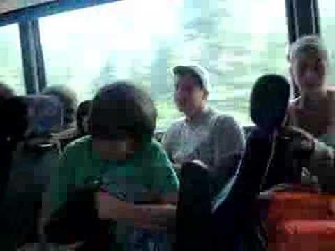 Jordan on bus