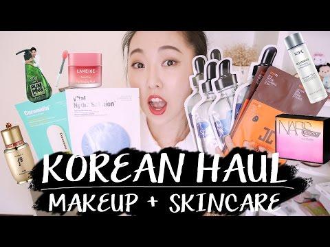 (Giveaway)韓國美妝購物-保養篇+彩妝漏網  KOREAN SKINCARE HAUL