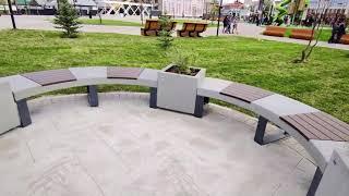 Челябинск. Новая набережная стала местом притяжения челябинцев и гостей городапрогулок и экскурсий.