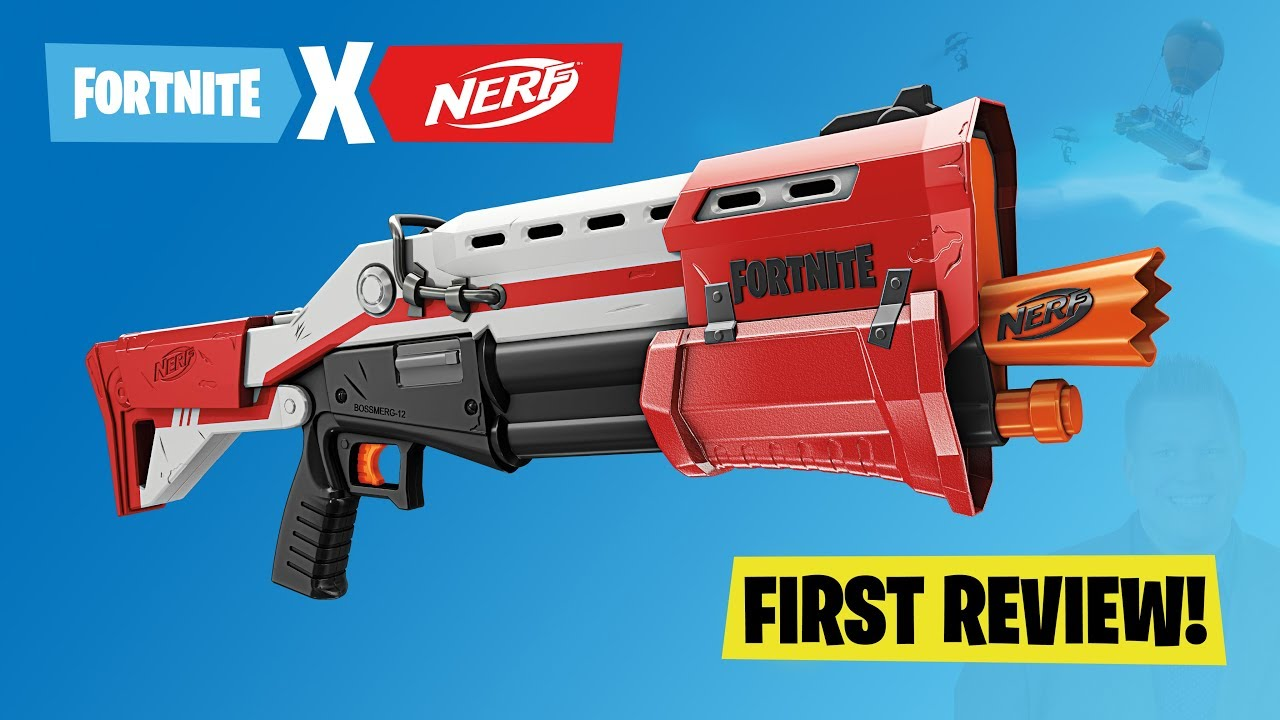 "[REVIEW] Nerf Fortnite ""TS"" Tactical Shotgun: Unboxing ..."