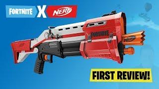 "[REVIEW] Nerf Fortnite ""TS"" Tactical Shotgun: Unboxing, Firing Test, Internals & Review Video"