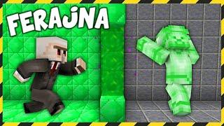 Minecraft FERAJNA: WYGRALIŚMY Z ZIELONYM STEVEM!
