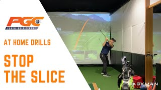 Home Golf Drills - Stop the Slice