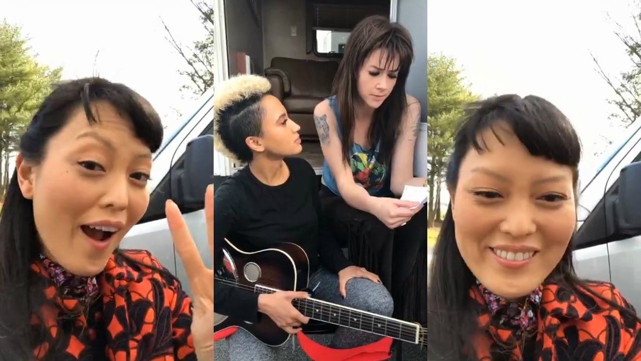 Hana Mae Lee Instagram Live Stream On Pitch Perfect 3