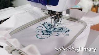 Embroidering on Oilcloth