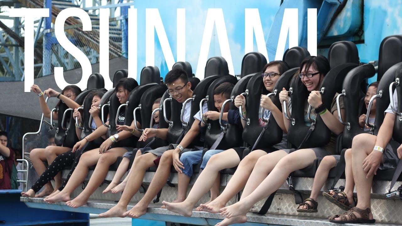 Wahana Ekstrim Tsunami Jatim Park 2 Batu Secret Zoo Youtube