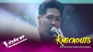 Jordie - Falling Like The Stars | Knockouts | The Voice Indonesia GTV 2019