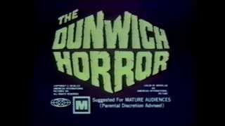 The Dunwich Horror 1970 TV trailer