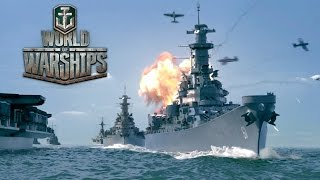 World of Warships - Launch Trailer thumbnail