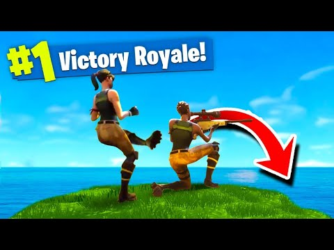 The BEST way to WIN in Fortnite Battle Royale?