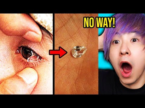 This Girl ACTUALLY Cries REAL DIAMONDS! *SHOCKING*