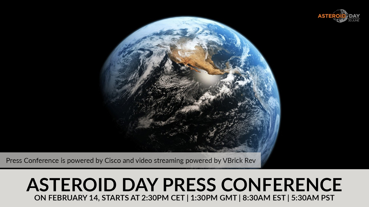 UA Space Programs to Launch 'Asteroid Day' 2017 Stream