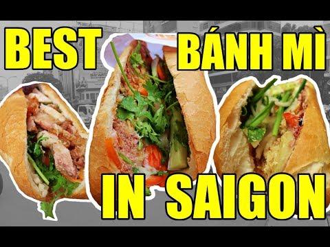 BEST BANH MI IN SAIGON!    VIETNAM TRAVEL VLOG 2017