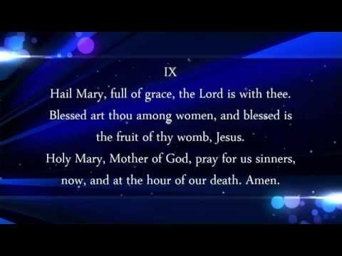 Sorrowful Mysteries Rosary by Dominican Sister of Mary Mother of the Eucharist