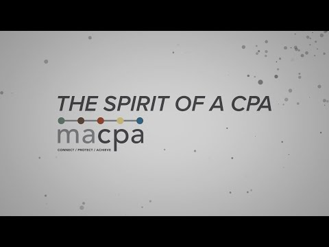 The Spirit of a CPA