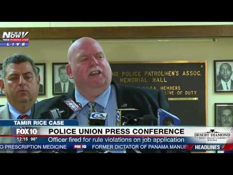 FULL: Cleveland Police Union Press Conference Tamir Rice Officer Involved Firing (FNN)