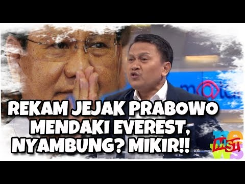 Rekam Jejak Apa yang Ditawarkan? Mardani: Prabowo Pernah Mendaki Puncak Everest, Nyambung? Mikir
