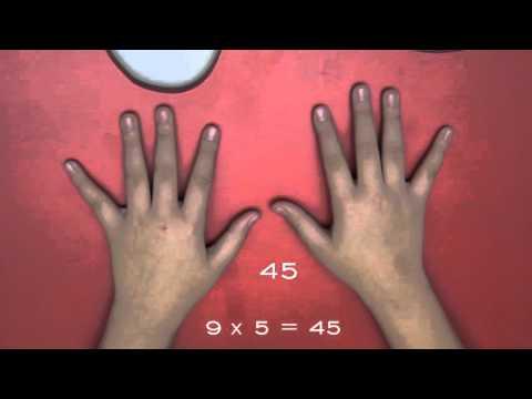 Пальчиковая математическая игра для ребенка