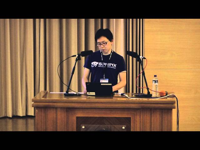 Image from R0 DAY3-04 Sphinx autodoc: automated API documentation - Takayuki Shimizukawa (PyCon APAC 2015)