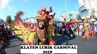 Karnaval Lurik Klaten 2018   Klaten Lurik Carnival 2018   HUT Kota Klaten ke 214