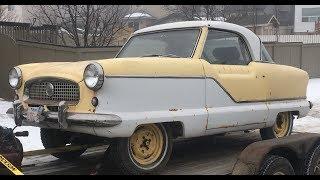Picking Up a 1957 Nash Metropolitan