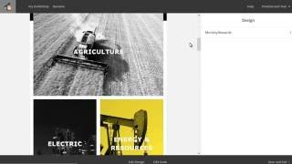 Newsletter Template. How To Manage Template Design In The MailChimp Editor