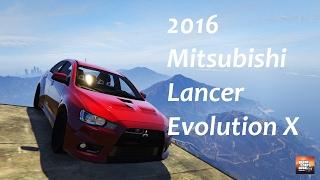 GTA5 Mods: 2016 Mitsubishi Lancer Evolution X