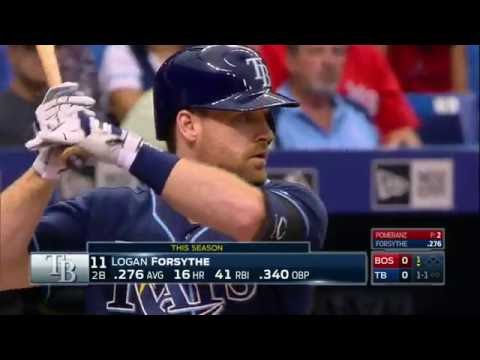 August 25, 2016-Boston Red Sox vs. Tampa Bay Rays