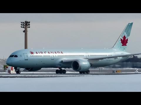 *Inaugural!* Air Canada 787-9 (B789) departing Montreal (YUL/CYUL)