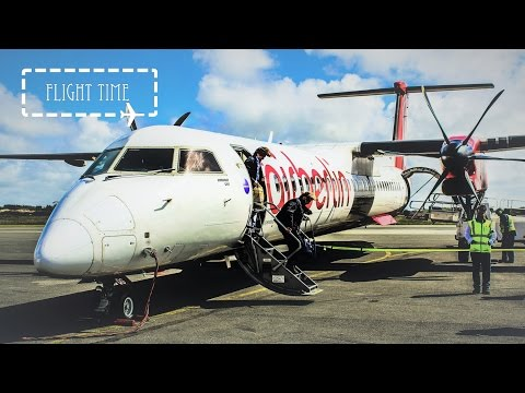 ✈FLIGHT REPORT✈ Airberlin Dash 8-Q400   Düsseldorf - Westerland (Sylt)   Economy