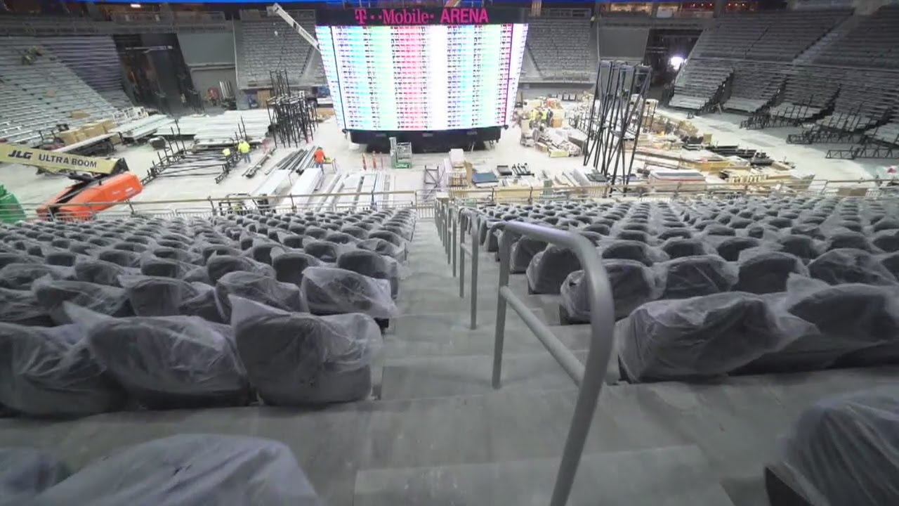 T-Mobile Arena Is Almost Here! 3/25/16