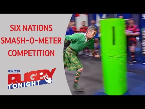 Six Nations Smash-o-meter competition | Rugby Tonight