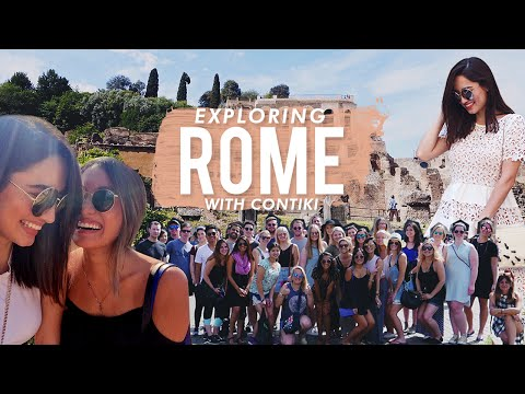 Rome Vlog with Contiki (Day 1 - 3) | Nicole Andersson